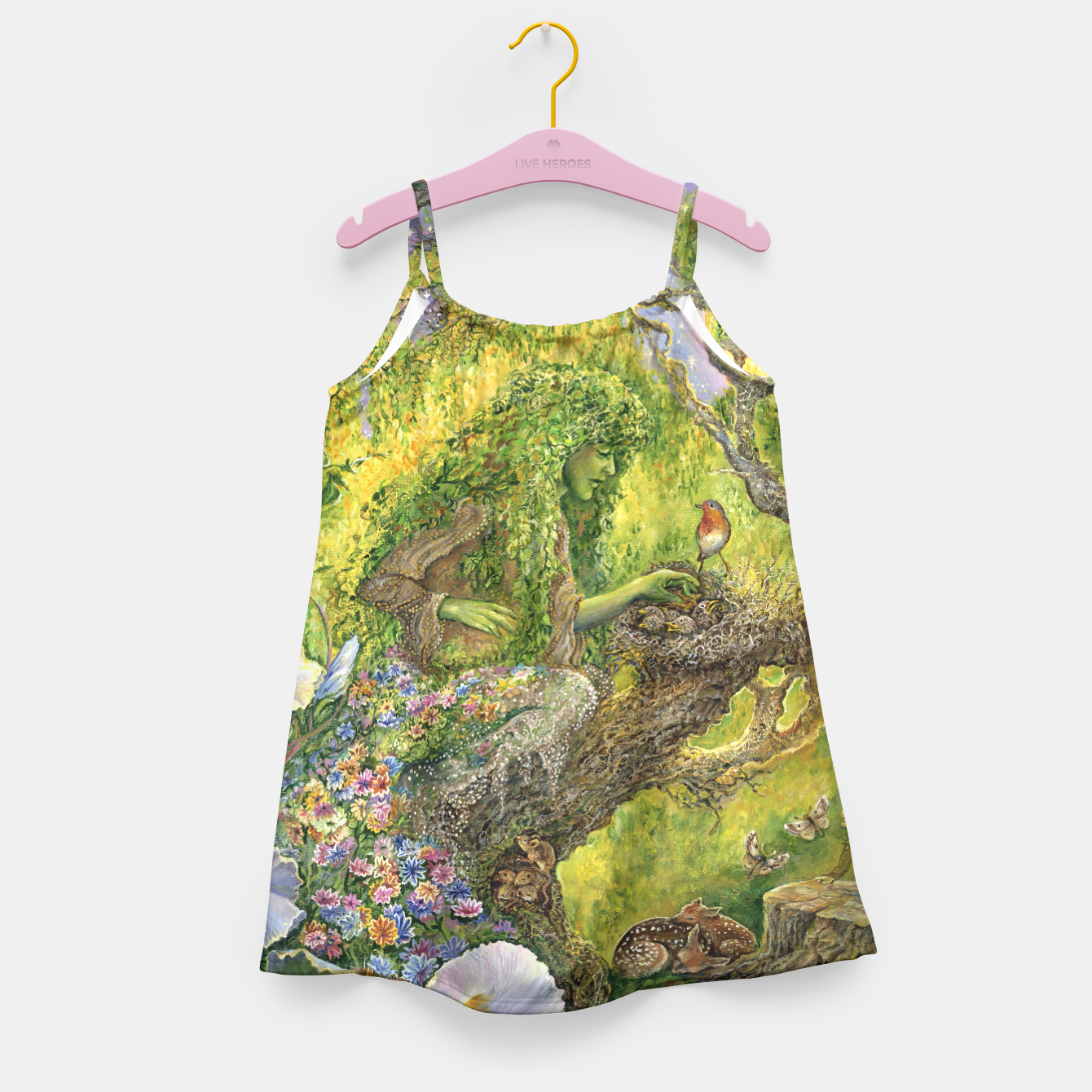 Image of Forest Protector Girl's Dress - Live Heroes