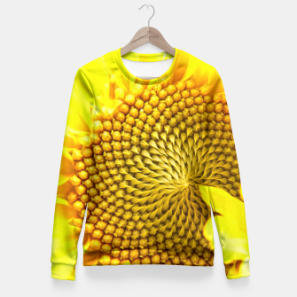 Miniatur Sunflower Fitted Waist Sweater, Live Heroes