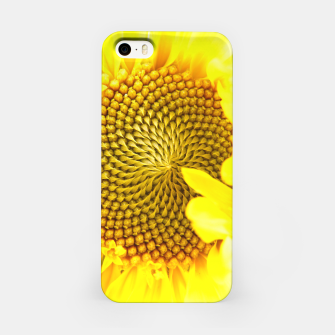 Miniatur Sunflower iPhone Case, Live Heroes