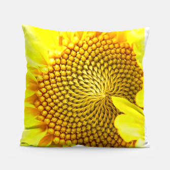 Miniatur Sunflower Pillow, Live Heroes