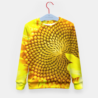 Miniatur Sunflower Kid's Sweater, Live Heroes