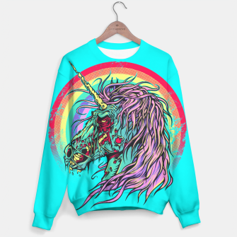 Thumbnail image of Unicorn Zombie 2 Sweater, Live Heroes