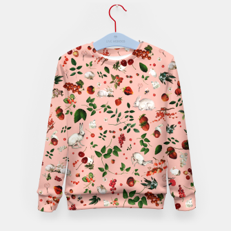 Thumbnail image of Sweet Bunny pink Kids Sweater, Live Heroes
