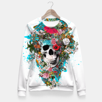 Thumbnail image of SUMMER SKULL V Fitted Waist Sweater, Live Heroes