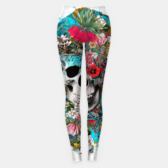 SUMMER SKULL V Leggings thumbnail image