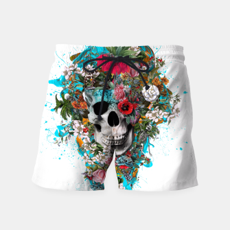 Thumbnail image of SUMMER SKULL V Swim Shorts, Live Heroes