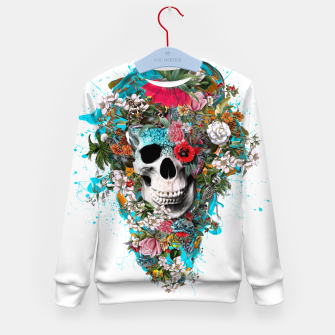 SUMMER SKULL V Kid's Sweater thumbnail image