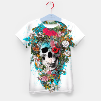 SUMMER SKULL V Kid's T-shirt thumbnail image