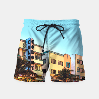 Thumbnail image of Ocean Drive Swim Shorts, Live Heroes