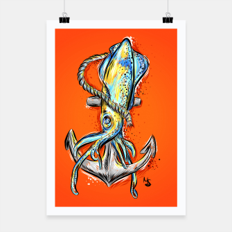 Thumbnail image of squid Poster, Live Heroes
