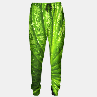 Miniatur Green Wet Leaf Sweatpants, Live Heroes