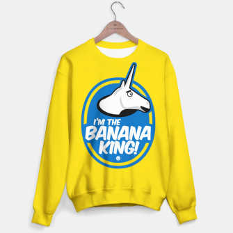 Miniatur Charlie The Unicorn - Banana King Bluza, Live Heroes