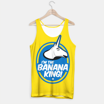 Miniatur Charlie The Unicorn - Banana King Tank Top, Live Heroes