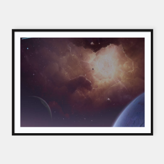 Thumbnail image of Star formation Framed poster, Live Heroes