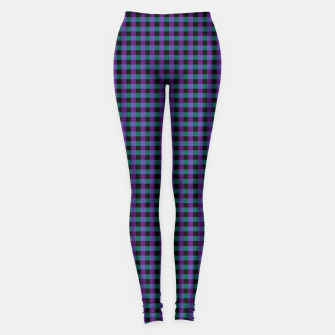 Thumbnail image of Purple Gingham Leggings, Live Heroes