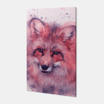 Red Fox Canvas obraz miniatury