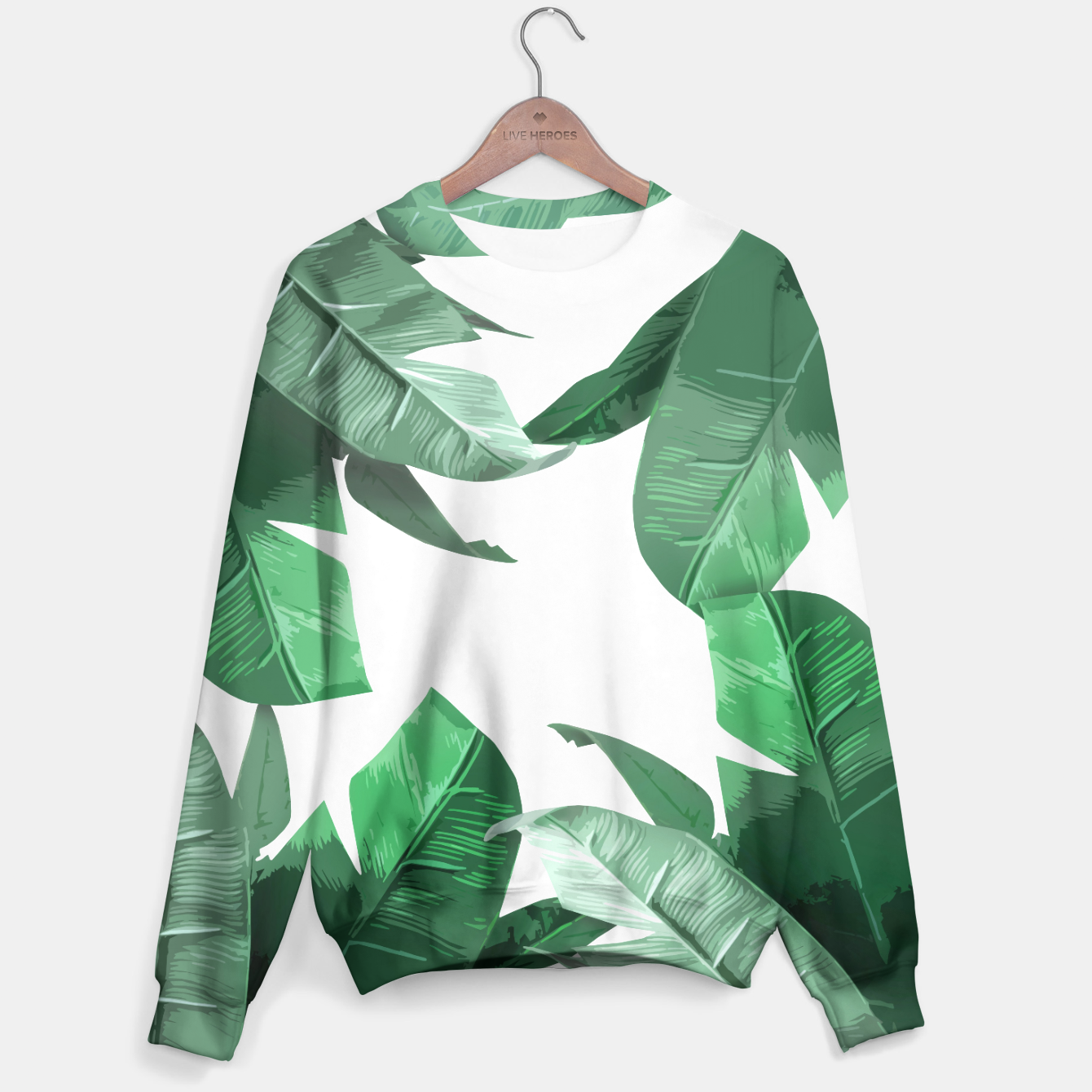 Image of Banana Leaf Sweater - Live Heroes