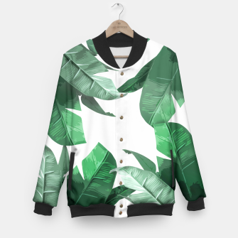 Thumbnail image of Banana Leaf Baseball Jacket, Live Heroes