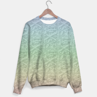 Thumbnail image of Pastel Skulls Sweater, Live Heroes