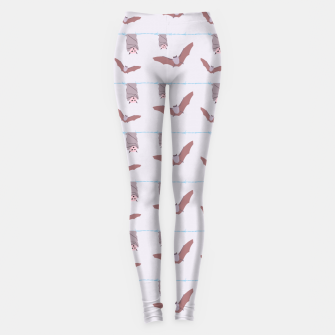 Thumbnail image of Pastel Goth Bats Leggings, Live Heroes