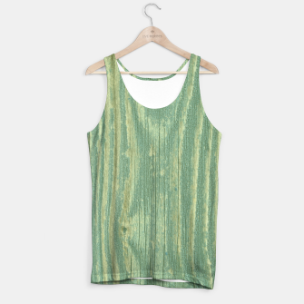 Thumbnail image of Rustic green weathered wood Tank Top, Live Heroes