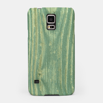 Thumbnail image of Rustic green weathered wood Samsung Case, Live Heroes