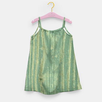 Thumbnail image of Rustic green weathered wood Girl's Dress, Live Heroes