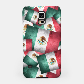 Thumbnail image of Grunge-Style Mexican Flag  Samsung Case, Live Heroes