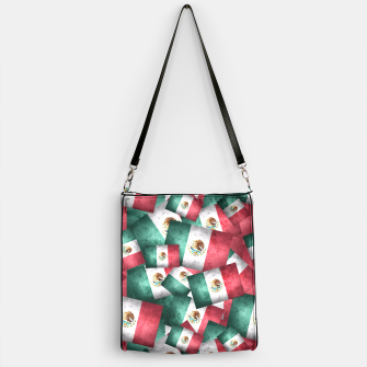 Thumbnail image of Grunge-Style Mexican Flag  Handbag, Live Heroes