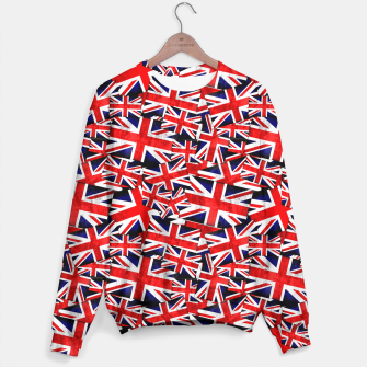 Thumbnail image of Union Jack British England UK Flag  Sweater, Live Heroes