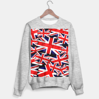 Thumbnail image of Union Jack British England UK Flag  Sweater regular, Live Heroes