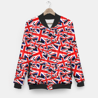 Thumbnail image of Union Jack British England UK Flag  Baseball Jacket, Live Heroes