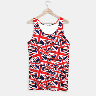 Thumbnail image of Union Jack British England UK Flag  Tank Top, Live Heroes