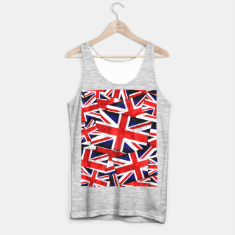 Thumbnail image of Union Jack British England UK Flag  Tank Top regular, Live Heroes
