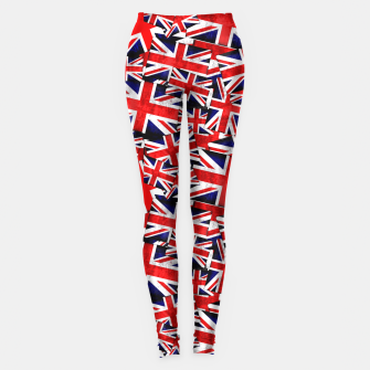 Thumbnail image of Union Jack British England UK Flag  Leggings, Live Heroes