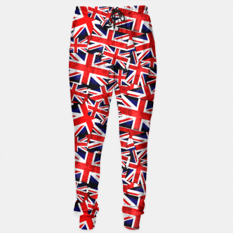 Thumbnail image of Union Jack British England UK Flag  Sweatpants, Live Heroes