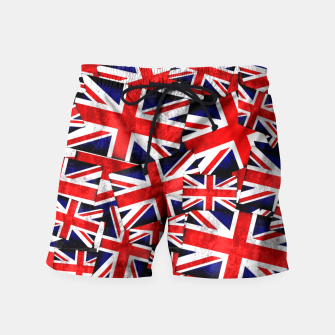 Thumbnail image of Union Jack British England UK Flag  Swim Shorts, Live Heroes