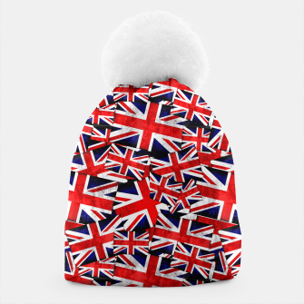 Thumbnail image of Union Jack British England UK Flag  Beanie, Live Heroes