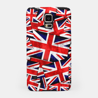 Thumbnail image of Union Jack British England UK Flag  Samsung Case, Live Heroes