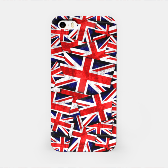 Thumbnail image of Union Jack British England UK Flag  iPhone Case, Live Heroes