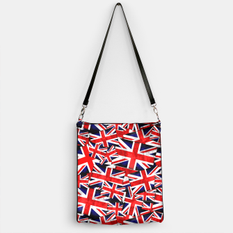 Thumbnail image of Union Jack British England UK Flag  Handbag, Live Heroes