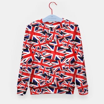 Thumbnail image of Union Jack British England UK Flag  Kid's Sweater, Live Heroes