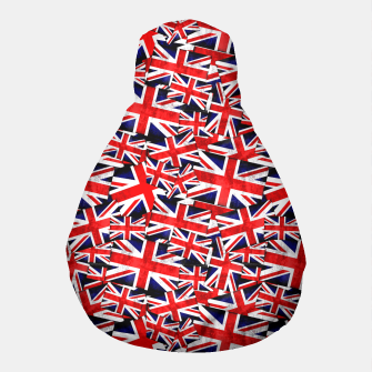 Thumbnail image of Union Jack British England UK Flag  Pouf, Live Heroes