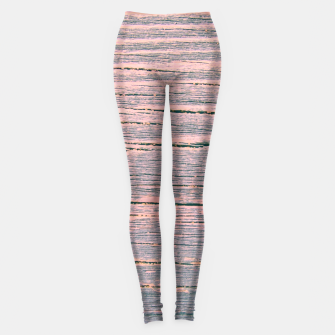 Thumbnail image of Rustic wood ombre Leggings, Live Heroes