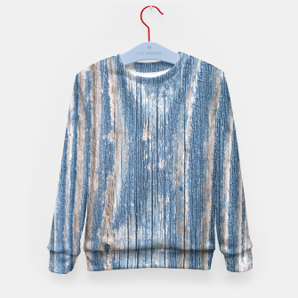 Thumbnail image of Weathered Wood Kid's Sweater, Live Heroes