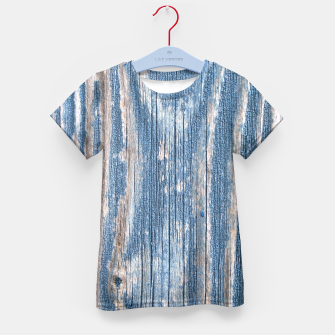 Thumbnail image of Weathered Wood Kid's T-shirt, Live Heroes