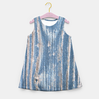 Thumbnail image of Weathered Wood Girl's Summer Dress, Live Heroes