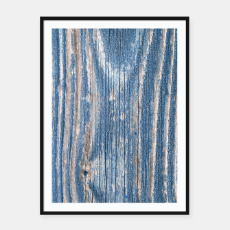 Thumbnail image of Weathered Wood Framed poster, Live Heroes