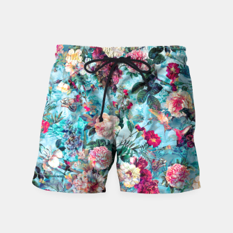 Thumbnail image of Blue heaven Swim Shorts, Live Heroes