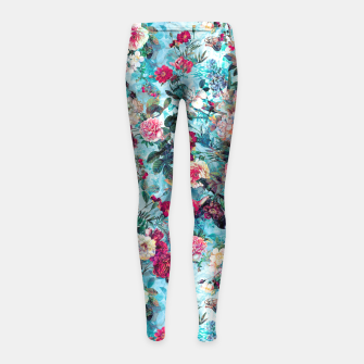 Thumbnail image of Blue heaven Girl's Leggings, Live Heroes